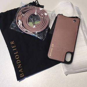 New Bandolier iPhone X Phone Case Emma Desert Rose
